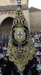 """Banderín de la Agrupación Musical """"Santísimo Cristo de Gracia"""" de Córdoba"""