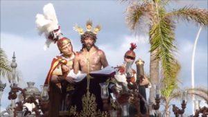 Imagen de Nuestro Padre Jesús del Amor Despojado de sus Vestiduras de Cádiz