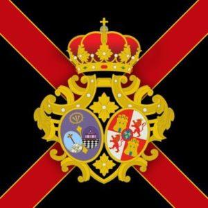 """Escudo de la Banda de Cornetas y Tambores """"Vera+Cruz"""" de Utrera (Sevilla)"""