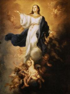 La Asunción de la Virgen - Bartolomé Esteban Perez Murillo