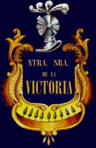 """Escudo de la Agrupación Musical """"Nuestra Señora de la Victoria"""" de Arahal (Sevilla)"""