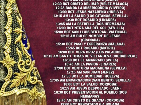 """Certamen de Santa Cecilia de """"Audios Cofrades"""""""