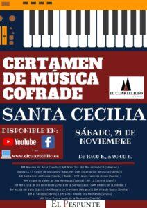 """Certamen de Santa Cecilia """"El Cuartelillo"""" de 2020"""